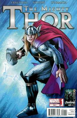 The Mighty Thor Vol. 2 (2011-2012) (Comic Book) #12.1