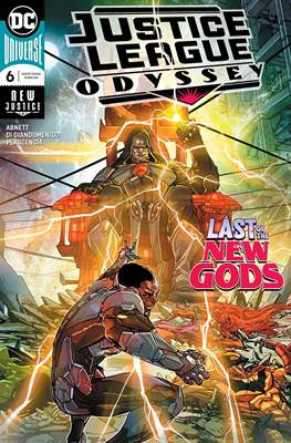 Justice League Odyssey (Comic Book) #6