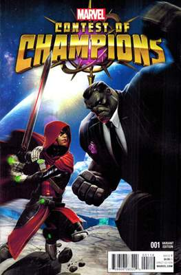 Contest of Champions (2015-2016 Variant Cover) #1.3