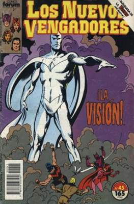 Los Nuevos Vengadores Vol. 1 (1987-1994) (Grapa 32 pp) #45