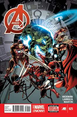 Avengers Vol. 5 (2013-2015) (Comic Book) #25
