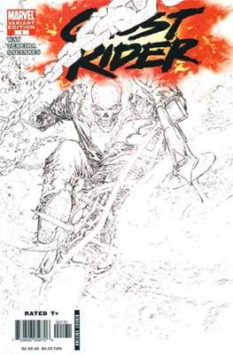 Ghost Rider (2006-2009 Variant Cover)