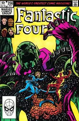 Fantastic Four Vol. 1 (1961-1996) (saddle-stitched) #256