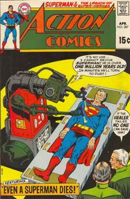 Action Comics Vol. 1 (1938-2011; 2016-) (Comic Book) #387