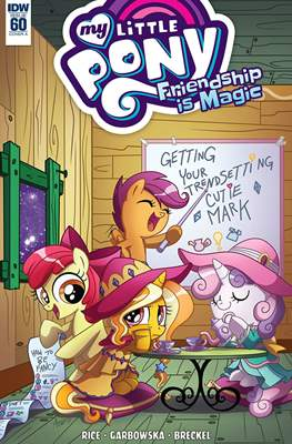 My Little Pony: Friendship Is Magic (Comic-Book) #60