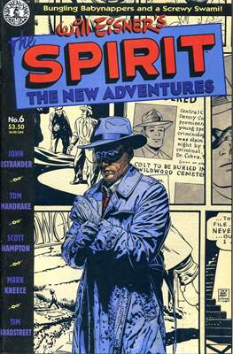 The Spirit. The New Adventures (Comic book. grapa.) #6