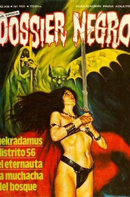 Dossier Negro (Rústica y grapa [1968 - 1988]) #155