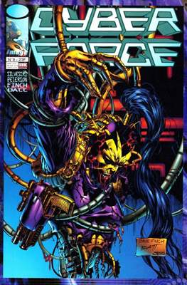 Cyberforce (Agrafé. 48 pp) #9