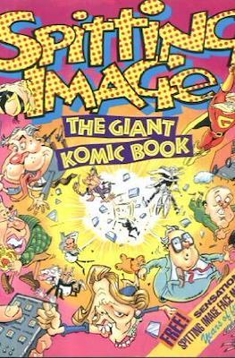 Spitting Image Giant Komic Book