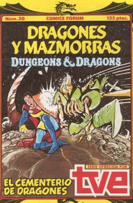 Dungeons and dragons. Dragones y mazmorras (Grapa 32 pp) #20