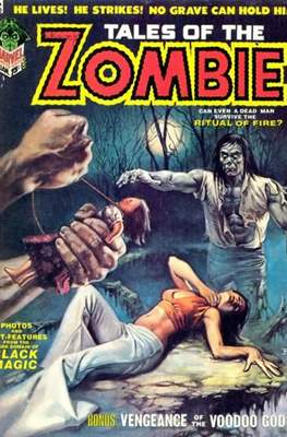 Tales Of The Zombie (Magazine) #3