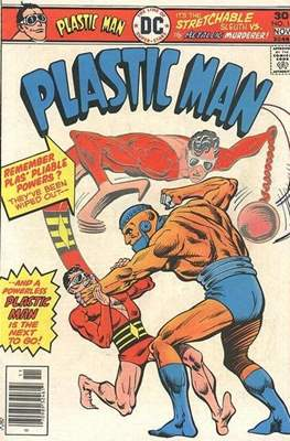 Plastic Man vol.2 (1966-1977) (Grapa, 32 págs.) #15