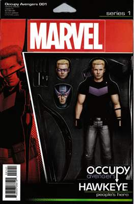 Occupy Avengers (2016-2017 Variant Covers) #1