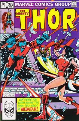Journey into Mystery / Thor Vol 1 (Comic Book) #328