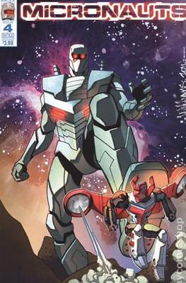 Micronauts (2016-2017 Variant Cover) (Comic Book) #4.1