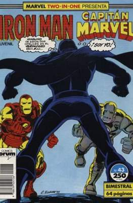 Iron Man Vol. 1 / Marvel Two-in-One: Iron Man & Capitán Marvel (1985-1991) (Grapa, 36-64 pp) #43