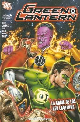 Green Lantern (2009-2012) (Grapa 72 pp) #6