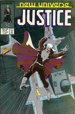Justice. New Universe (1986) (Grapa.) #17