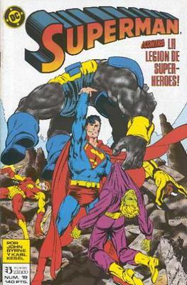 Superman: El hombre de acero / Superman Vol. 2 #19