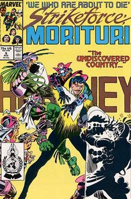 Strikeforce Morituri (Comic-book.) #9
