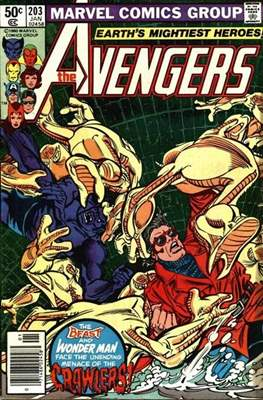 The Avengers Vol. 1 (1963-1996) (Grapa) #203