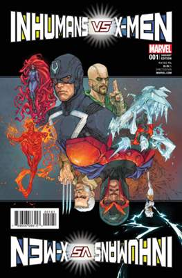 Inhumans vs. X-Men (Variant Cover) (Comic Book) #1.7