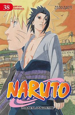 Naruto (Rústica con sobrecubierta) #38