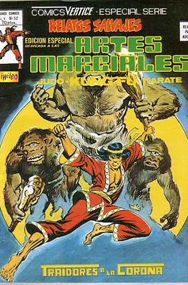 Relatos salvajes: Artes marciales Judo - Kárate - Kung Fu Vol. 1 (Rústica 52-68 pp. 1975-1979) #52