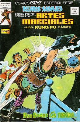 Relatos salvajes: Artes marciales Judo - Kárate - Kung Fu Vol. 1 (Rústica 52-68 pp. 1975-1979) #46