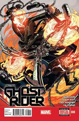 All New Ghost Rider (2014-) (Comic book) #8