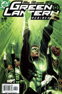 Green Lantern: Rebirth (2004-2005) (Comic-book) #6