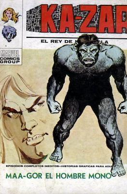 Ka-Zar (1973-1974) (Rústica 128 pp) #3