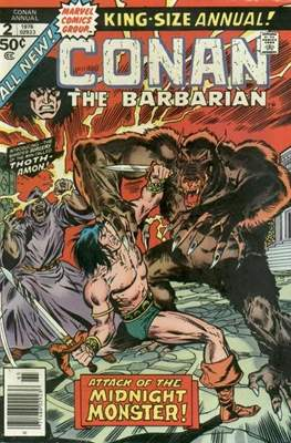 Conan The Barbarian Annuals (1973-1987) (Grapa, 48 págs.) #2