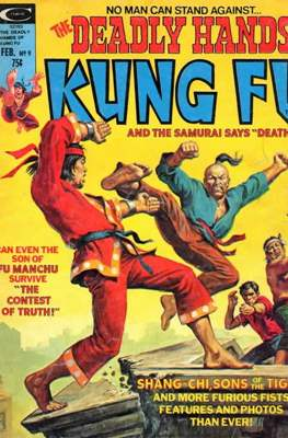 Deadly Hands of Kung Fu Vol 1 #9