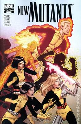 New Mutants Vol.3 (2009-2012 Variant Cover) #1.2
