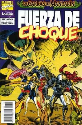 Fuerza de Choque vol. 1 (1995) (Grapa. 17x26. 24 páginas. Color. 1995.) #5