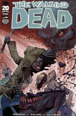 The Walking Dead (Variant Cover) (Comic Book) #100.8
