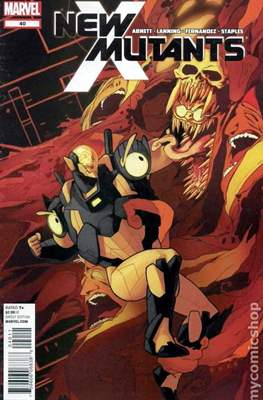 New Mutants Vol. 3 (Comic Book) #40