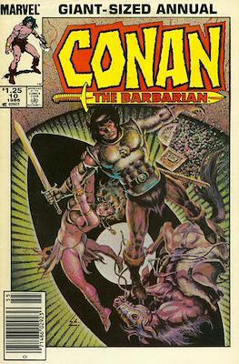 Conan The Barbarian Annuals (1973-1987) (Grapa, 48 págs.) #10