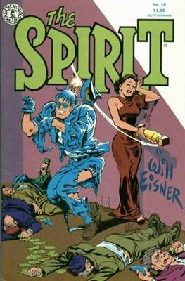 The Spirit (1983-1992) (Comic book. 32 pp) #18