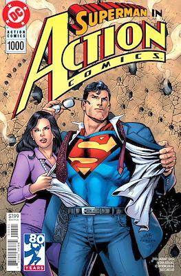 Action Comics Vol. 1 (1938-2011; 2016-... Variant Covers) (Comic Book) #1000.6