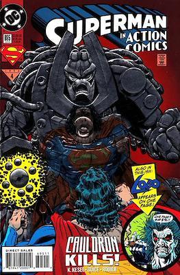 Action Comics Vol. 1 (1938-2011; 2016-) (Comic Book) #695