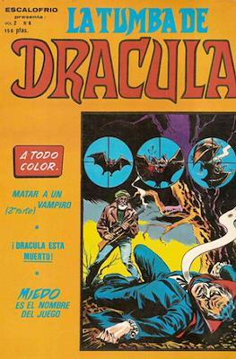 Escalofrio presenta: La tumba de Dracula Vol. 2 (1981) (Rústica 48-56 pp) #6