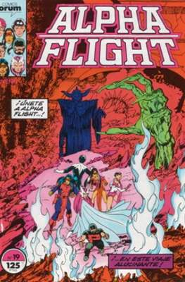 Alpha Flight Vol. 1 / Marvel Two-in-one: Alpha Flight & La Masa Vol.1 (1985-1992) (Grapa 32-64 pp) #19