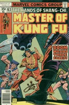 Master of Kung Fu (Comic Book. 1974 - 1983. Continued from Special Marvel Edition #16) #63
