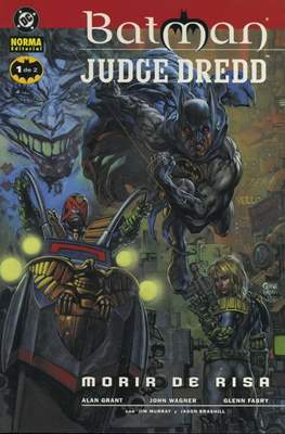 Batman / Judge Dredd: Morir de risa