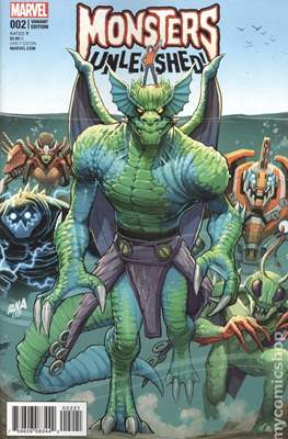 Monsters Unleashed (2017- Variant Cover) (Comic Book) #2