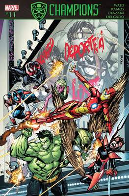 Champions Vol. 2 (Comic Book) #11