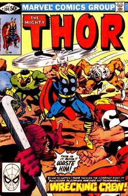 Journey into Mystery / Thor Vol 1 (Comic Book) #304