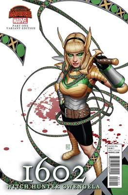 1602: Witch Hunter Angela (Variant Cover)